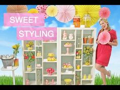 DIY Summer Party Ideas | Sweet Styling with Elise Strachan :   		MyCupcakeAddiction - 8/8/15