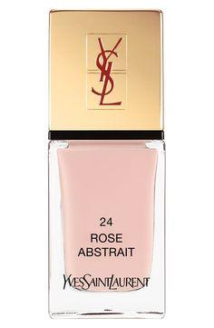 Yves Saint Laurent 'La Laque Couture' Nail Lacquer in 24 Rose Abstrait