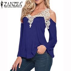 Cheap shirt clearance, Buy Quality blouse patterns directly from China blouse vs shirt Suppliers:    Blusas 2016 New Arrival Autumn Women Lace Crochet T Shirt Long Sleeve Embroidery Shirt Casual Sport O Neck Tee Tops P