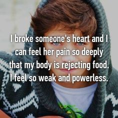 This Is What It Feels Like To Break Someone's Heart