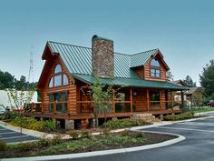 Mountainview Front Elevation -- Natural Element Homes