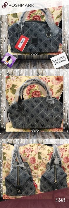 """Dooney & Bourke Quilted Rose Small Duffle NWT Dooney & Bourke Quilted Rose Small Duffle NWT . This Duffle has original Wrapping.  Measurements appropriately 8 1/2"""" x 12"""" x 8""""  5"""" Strap Drop.  trades. Please ask all questions prior to buying. Dooney & Bourke Bags Satchels"""