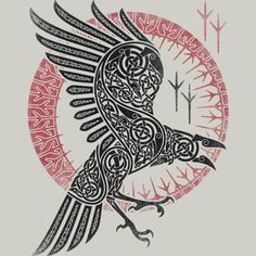 RAGNAR'S RAVEN T Shirt By RAIDHO Design By Humans
