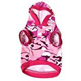 New Pet Dog Cat Camo Clothing Hoody Apparel Puppy Doggy Camouflage Coat (XS, B) by petcondo