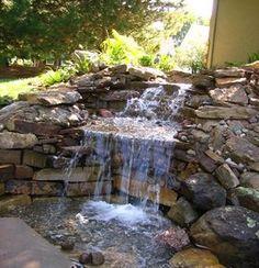 LOVE this waterfall fountain!!!!!