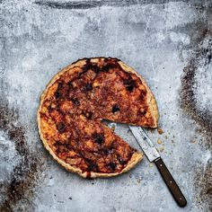 This over-the-top tart is a terrific mix of pungent Époisses cheese, chopped ham and sweet apples.