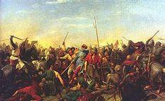 Batalla de Stamford Bridge 25 de septiembre de 1066 los vikingos lucharon contra los condes del norte