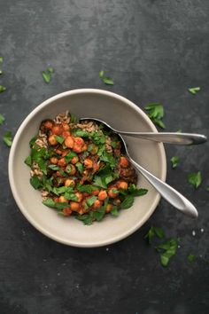 Berbere Chickpeas and Chard | Naturally Ella