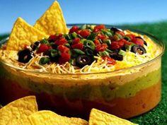 Fiesta 7 Layer Dip Recipe