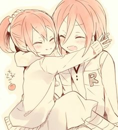 Gou and Rin. These two have the greatest brother/sister relationship. I wish my brothers and I had a relationship like theirs.