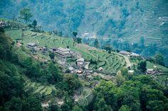 Himalayan Valley near Ghandruk, Nepal Fine Art Photography, Landscape Photography, Travel Around The World, Around The Worlds, Devon Coast, Landscape Prints, Photographic Prints, Nepal, Fine Art Prints