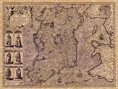 Map of the Kingdom of Ireland