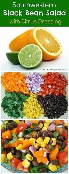 Love bean salad