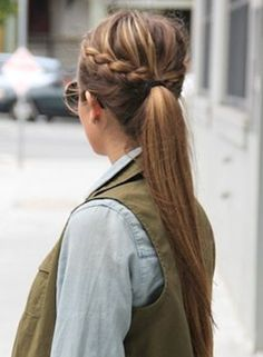 hairstyles for medium length hair braided hair