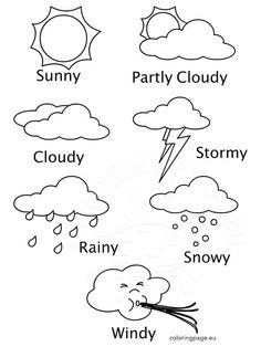 Free Preschool Weather Activity Book | FREE PRINTABLES ...