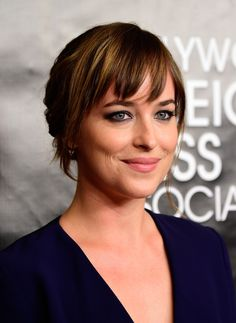 Amazing Full HD Images Dakota Johnson 2015 HFPA Annual Grants Banquet - HD Photos