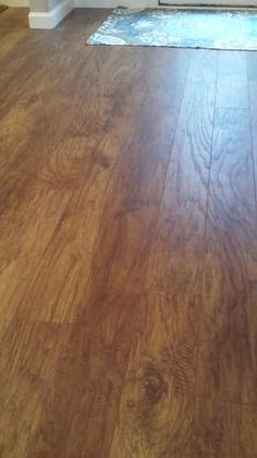 Hand scraped light hickory 12 mm thick x in wide x for 12 mm thick floor tiles