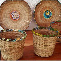 Super Basket Design Diy Home Decor Ideas African Crafts, African Home Decor, African Textiles, African Fabric, African Interior Design, African House, African Accessories, Cool House Designs, Boho