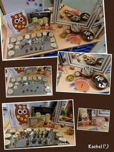 """Number exploration with hedgehogs and owls - from Rachel ("""",) Fall Preschool, Toddler Preschool, Preschool Ideas, Preschool Math, Kindergarten, Owl Activities, Autumn Activities, Owl Babies, Baby Owls"""