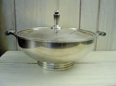 1930s W & S Blackinton silver round covered by valeriesvintagehome, $79.00
