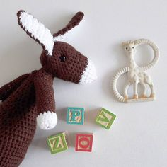 So as you can imagine I'm not going to get a lot of crochet done today but I finished adding arms to my calorie free chocolate bunny yesterday!  I can't promise that I am not stocking up on real Easter chocolate though.... Anyone else's cupboards look like the confectionary aisle? Just mine?  #chocolateaddict #nomnomnom #easter #bunny #rabbit #bunniesofinstagram #crochet #crochetlove #crochetaddict #crochetgirlgang #lovecrochet #amigurumi #fibreart #textileart #cute #etsy #etsyuk…