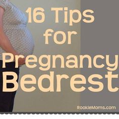 Things to Do On Pregnancy Bedrest