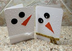 Snowman Gift Card Holder - Hello Stampers Hope this find you well. Yes it is a busy season so this little gift card wo - Christmas Gift Card Holders, Christmas Cards To Make, Noel Christmas, Xmas Cards, Holiday Cards, Greeting Cards, Winter Karten, Gift Cards Money, Snowman Cards