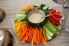 Veggies tray