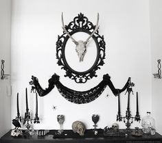 """spookyloop: """"This is part of our living room. We call it """"the shrine"""" because we don't know what else to call it. """" - itsblackfridayOrigina..."""