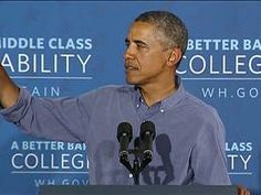 Obama heckled during college affordability speech - Video on NBCNews.com