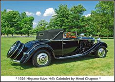 1926 Hispano-Suiza Cabriolet