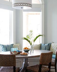 breakfast nook | Andrew Howard Interior Design
