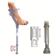 Shock Absorbing Fore Arm Elbow Crutch : Reduce trauma to the forearm.-Reducing stress to joints and muscles. Makes support easier for those are not able to grip well. Crutches, Broken Leg, Elderly Care, Walking Sticks, Arms, Product Portfolio, Editorial Design, Factors, Stability