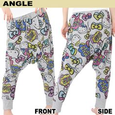 Get this cute Hello Kitty sweat pants at Rakuten Global Market