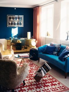 Inside a Danish Apartment With a Bold Use of Color