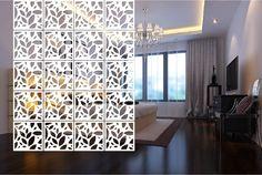 4 unids/lote plexiglás tallado paneles moda pantalla colgante sala de estar Hollow partición colgante cortina de estilo chino 30 * 30 CM(China (Mainland))