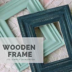 Frame It, Altered Art, Wooden Frames, Wall Art, Handmade, Home Decor, Hand Made, Decoration Home, Wood Frames