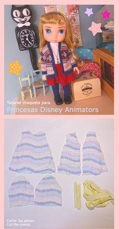 Disney Animator Doll Jacket Pattern and Tutorial