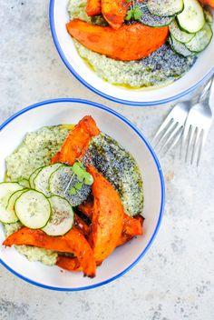 quinotto verde com abóbora hokkaido | green quinotto with hokkaido pumpkin