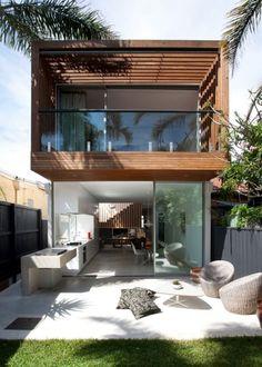 Super house design exterior and interior ideas Eckhaus, Design Exterior, Modern Exterior, Facade Design, Exterior Homes, Interior Exterior, Room Interior, Interior Ideas, Casas Containers