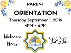 Parent Orientation at #UniversalAcademy takes place this Thursday September 1 2016 at 4PM to 6PM at the school. See you all there! For any information please call the school at 313-581-5006