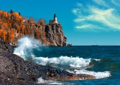 Split Rock Lighthouse, Lake Superior:  Such a beautiful place to be. the GREATEST of the great lakes.