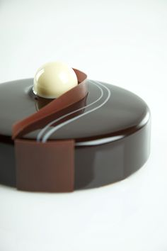 Chocolate Mousse with Vanilla Bavarian and Chocolate Cake #NormanLoveConfections