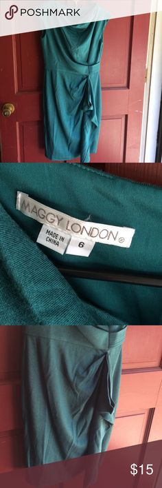 Size 6 Maggy London Dress Size 6 Sea Green Maggy London Dress Maggy London Dresses Midi