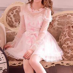 S/M/L Pastel Bubble Fairy Dress SP153622