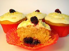 Top Recipes Collection: Coconut Orange Cupcakes