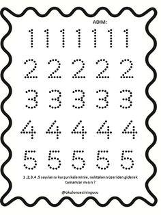 Numbers Preschool, Worksheets For Kids, Kindergarten Math, Preschool Activities, Alphabet, School Supplies, First Year, Space Shuttle