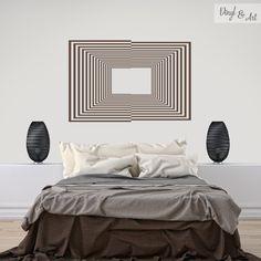 Vinilo Adhesivo Decorativo Optical Art - Cuadros Ópticos. El Op art, también conocido como optical art y como arte óptico, es un estilo de arte visual que hace uso de ilusiones ópticas. En las obras de op-art el observador participa activamente moviéndose o desplazándose para poder captar el efecto óptico completamente. #vinilos #adhesivos #decorativos #vinylandart #arte #diseño #inspiracion #opart #opticalart #arteoptico www.vinylandart.com