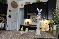 Designs by Pinky: Easter Breakfast Bar Easter 2018, Easter Decor, Bar, Breakfast, Spring, Design, Home Decor, Morning Coffee, Decoration Home