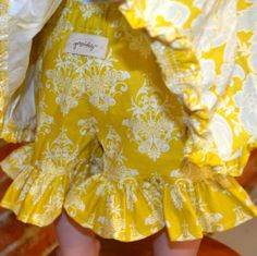 One Good Thread - Persnickety Clothing - Infant - Mae Short - Yellow | Sail Away, $40.00 (http://www.onegoodthread.com/persnickety-clothing-infant-mae-short-yellow-sail-away/)